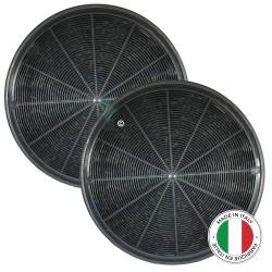 2 Filtres anti-odeur au charbon actif pour hotte - Type 196