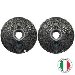 2 Filtres anti-odeur au charbon actif pour hotte - Type Best 190
