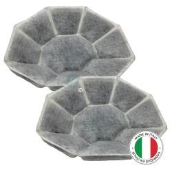 2 Filtres anti-odeur au charbon actif pour hotte - Type 71X9654