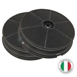 2 Filtres anti-odeur au charbon actif pour hotte - Type 180 - CR350 - CR300 - ACM62 - FCH628