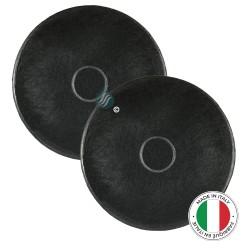 2 Filtres anti-odeur au charbon actif pour hotte - Type ACM14
