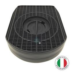 1 Filtre anti-odeur au charbon actif pour hotte - Type 200 - D200 - CHF200/1 - DKF42 -...
