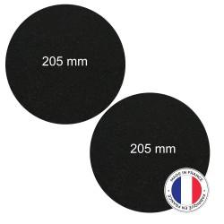 2 Filtres Anti-Odeur Au Charbon Actif - Compatible BRANDT, THERMOR, SAUTER, BLOMBERG, DE...