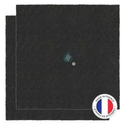 2 Filtres Anti-Odeur Au Charbon Actif - Compatible Sauter 79X9215