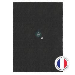 1 Filtre Anti-Odeur Au Charbon Actif - Compatible Brandt De Dietrich Sauter 76X9553 - 215x490mm