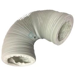 1 gaine de ventilation universelle pour sèche-linge, hotte et climatiseur - En Vinyl -...
