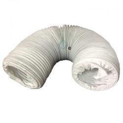 1 gaine de ventilation universelle pour VMC - En Vinyl - Longueur 3m - Diamètre 80mm