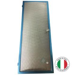 1 Filtre métal anti-graisse bombé - 457x176mm - Compatible SCHOLTES C00135459 | 135459 |...