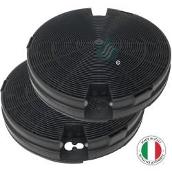 2 Filtres anti-odeur au charbon actif pour hotte - Type 29  - NYTTIG FIL 600 - CHF029 -...