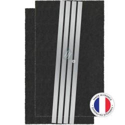 2 Filtres Anti-Odeur Au Charbon Actif - Compatible Sauter Brandt Fagor 74X5766